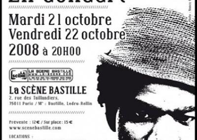 La Scène Bastille – Paris – Octobre 2008