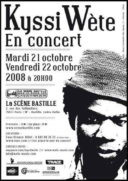 Kyssi Wète - La Scène Bastille2