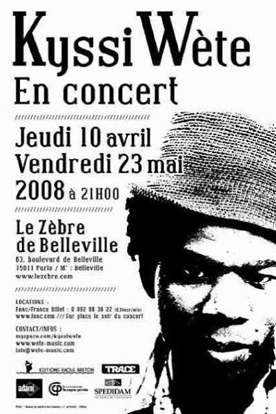 Kyssi Wète - Zèbre de Belleville9