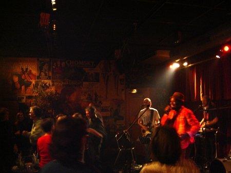 Kyssi en concert à l'Êntrepot 15 octobre 2007