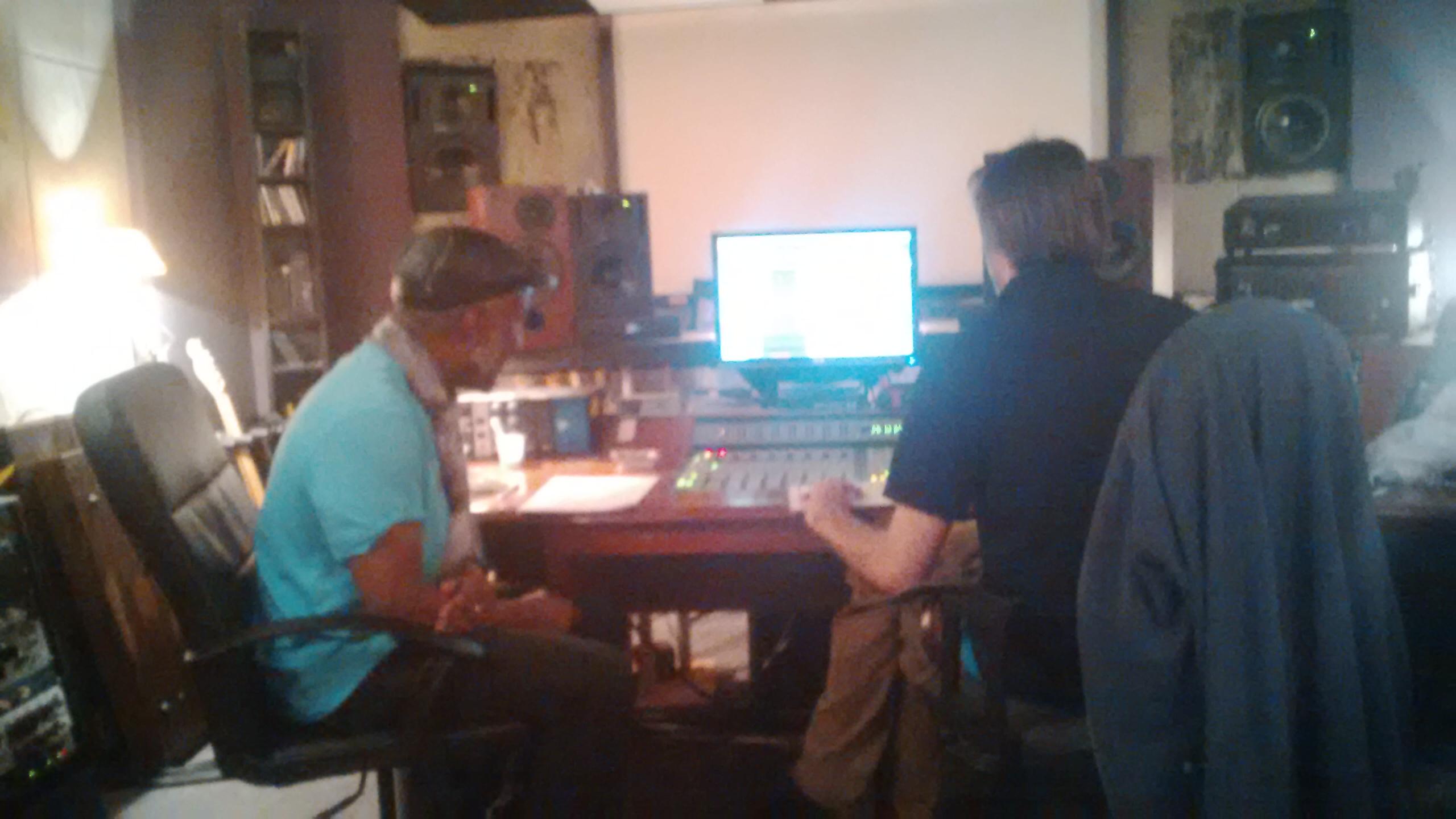 Freddy et Cle?ment, Studio Da vout juillet 2015,  Paris