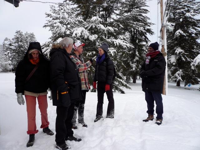 Kyssi, JF, Calan, Jil, Kirsten, Ottawa hiver 2013