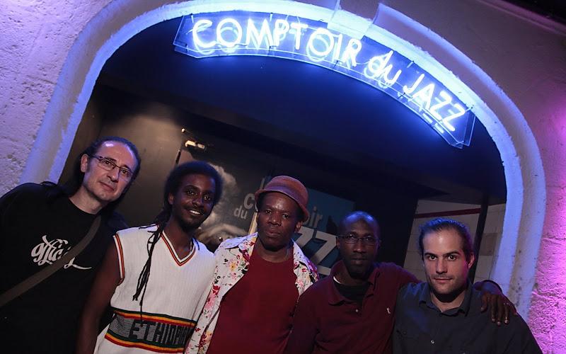 Kyssi, Sam, Théo, Patrick, concert au Comptoir du Jazz  à Bordeaux 29 mai 2009