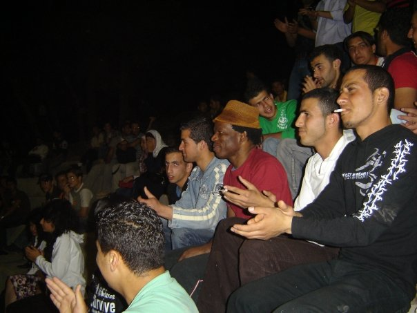 kyssi We?te Universite?  Jérusalem Est Palestine,  Israe?l et palesti ne Tour 24 mars 2008