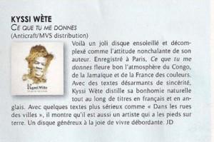 Kyssi Wète -